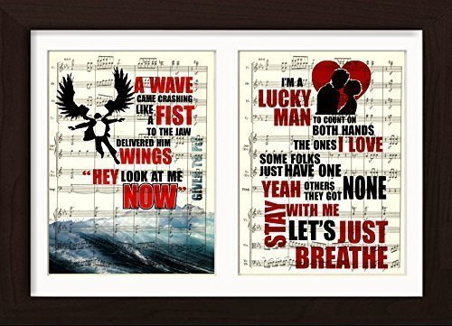 Amazoncom Pearl Jam Inspired Given To Fly Just Breathe Double