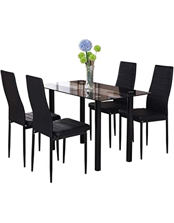 Tremendous Dining Table Sets Shop Amazon Uk Home Interior And Landscaping Palasignezvosmurscom