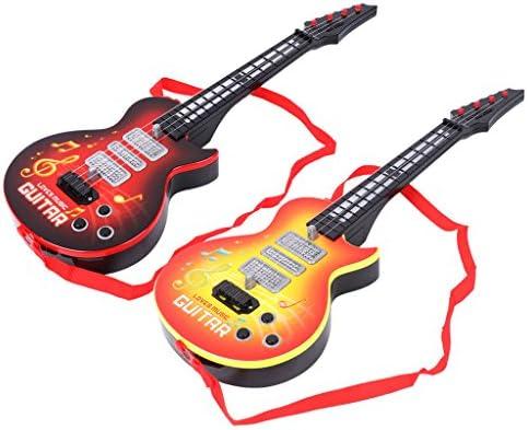 Guitarra eléctrica con 4 cuerdas, instrumento musical, juguete ...