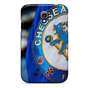Scratch Protection Hard Cell-phone Case For Samsung Galaxy S4 With Provide Private Custom Vivid Chelsea Fc Logo Image Luoxunmobile333