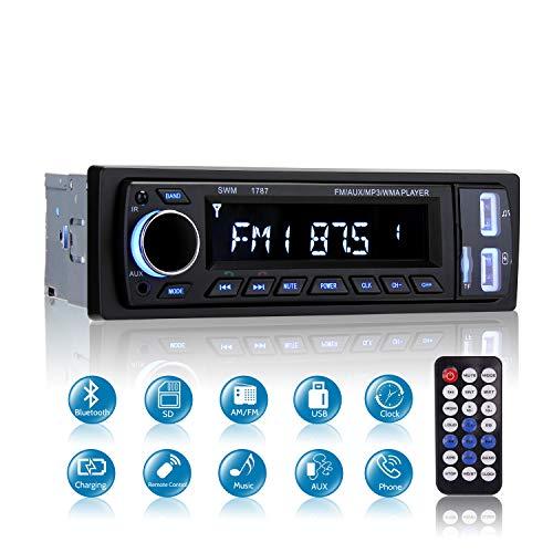 Bluetooth Car Stereo, MEKUULA Car Radio Stereo Video: Amazon.co.uk: Electronics