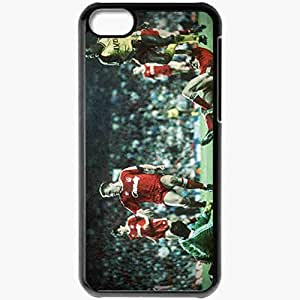 Personalized iPhone 5C Cell phone Case/Cover Skin Anfield 1989 Arsenal Football Black
