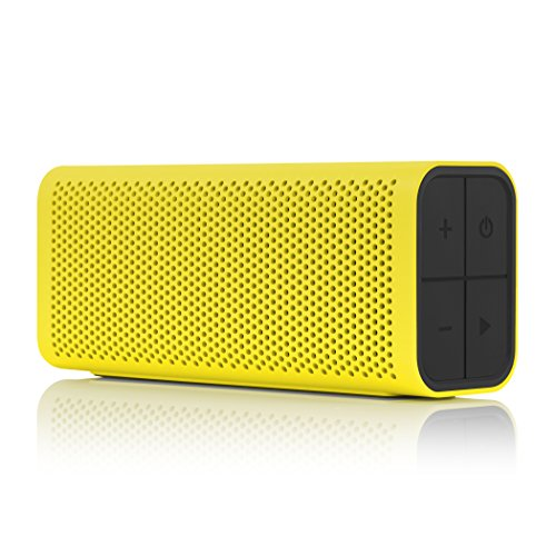 BRAVEN 705 Portable Wireless Bluetooth Speaker [12 Hours][Water Resistant] Built-In 1400 mAh Power Bank Charger - Yellow