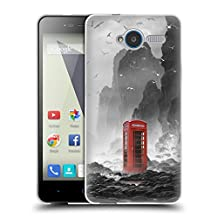 Official Daniel Conway Phonebooth Surreal Scenery Soft Gel Case for ZTE Blade A602