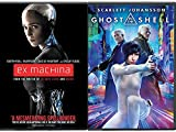 Ai Women Ghost in the Shell Scarlett Johansson & Ex-Machina Sci-Fi Double Feature