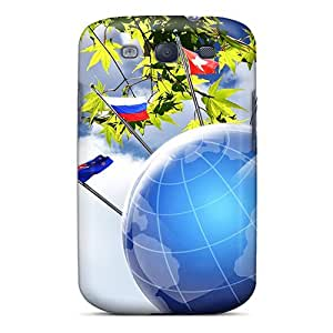 Galaxy S3 Case Slim [ultra Fit] Earth Day Protective Case Cover