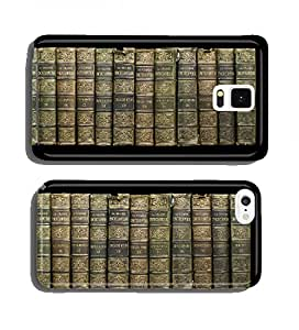 Old books on shelf cell phone cover case Apple iPhone 4