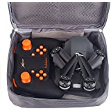 Hanbaili XT-1 Gravity Sensor Folding Aerial Drone + Storage Package,720P Wifi Camera Real-time Transmission Hand Throwing Take Off Drone with Headless Mode for Kids