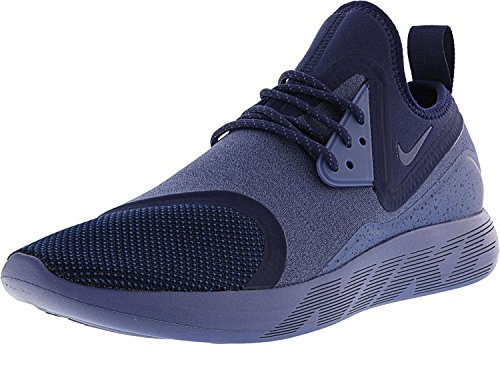 NIKE Men's Lunarcharge Essential Ankle-High Fabric Running Shoe