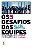 capa de Os 5 Desafios das Equipes