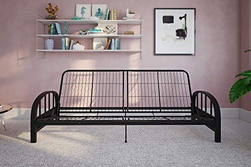 DHP 3273098 Aiden Metal Futon Frame, Black