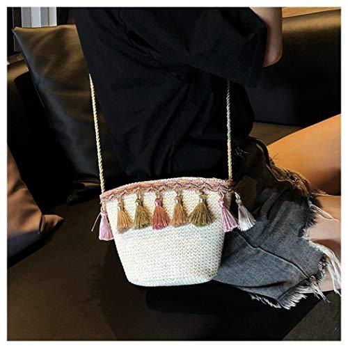 Hombro marrón para Caqui al Mangetal Mujer Bolso Talla única xRw1EqC4
