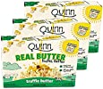 Quinn Snacks Real Butter Tastes Better - Microwave Popcorn Made With Grass-Fed Butter - Great Snack Food For Movie Night, Truffle Butter, 3.4 Ounce (3 Count)