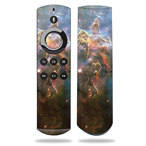 (MightySkins Skin for Amazon Fire TV Remote - Eagle Nebula | Protective, Durable, and Unique Vinyl Decal wrap Cover | Easy to Apply, Remove, and Change Styles | Made in The USA)