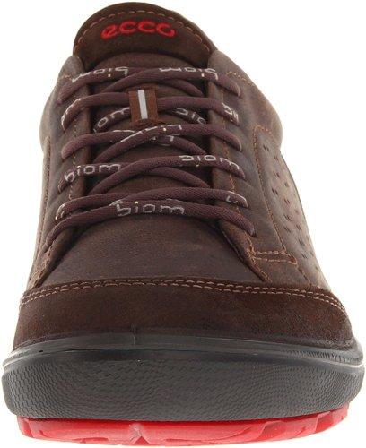 Ecco Biom Mens Grip Urbaneering Sneaker Dark Clay / Cacao Marrone