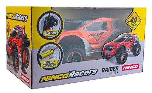 Coche radiocontrol Raider+ 2WD Incluye bateria y Cargador. Outletdelocio. 40 Km//Hora