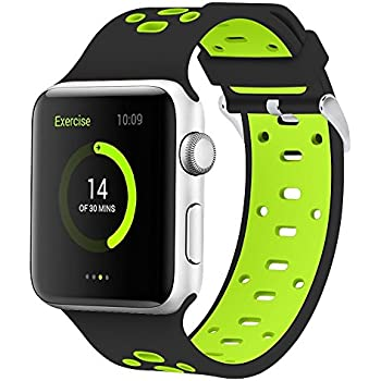Amazon.com: SKYii Replacement for Apple Watch Bands 42mm