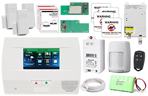 Honeywell Lynx Touch L5210 wireless home security alarm and automation GSM/Wifi/Zwave Kit by Honeywell