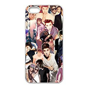 Pop Boy Justin Bieber Hard Plastic phone Case Cover For Apple Iphone 5 5S Cases XFZ413505