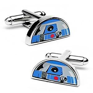 Star Wars R2D2 Dome Cufflinks Novelty 1 x 0in