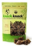 Cheap Bully Sticks Bites 8oz Natural Dog Treats, Beef Chews, Fully Digestible, No Preservatives or Additives, Low Fat High Protein Single Ingredient Dog Dental Chews by Knick Knack, USDA-Approved