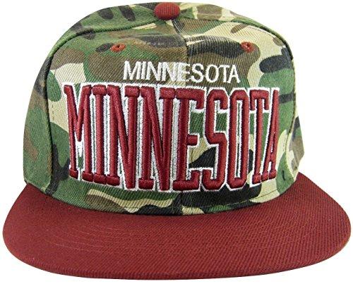 Minnesota Vikings Flat Bill Hats de51795ddbbb