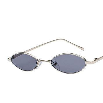 ZCF Gafas de Sol Retro de Montura pequeña, Hombres y Mujeres ...