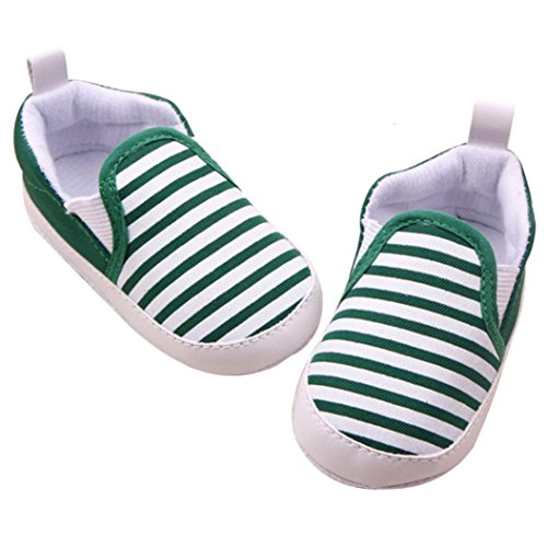 Zapatos De Bebé, RETUROM fácil de llevar Fringe bebé suavemente único pesebre Walker Zapatos calientes Verde
