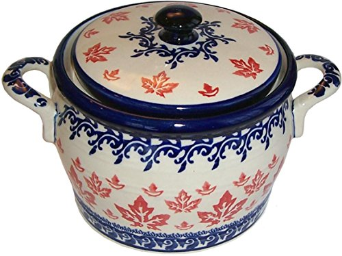 (Polish Pottery Bean Pot Baker Eva's Collection