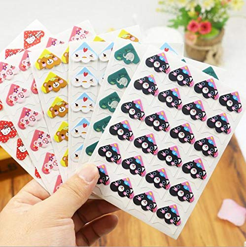 Auch 6 Sheets Photo Corners Self Adhesive Photo Mounting Sticker Paper Corner Stickers for DIY Scrapbook, Picture Album.