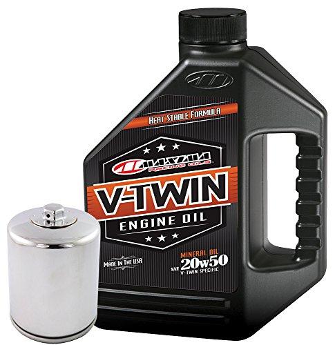 MaximaHiflofiltro VTEOCK6 Engine Oil Change Kit for Harley Davidson Twin Cam V-Twin