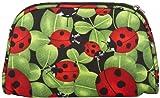 World Traveler Cosmetic Pouch, Ladybug Print