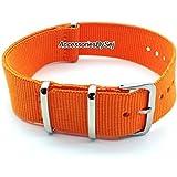 G10 NATO MOD Nylon Watch Strap Militaire Bracelet de Montre, Choix de styles et tailles - Présenté avec Gratuit Luxueux AccessoriesBySej ® TM cadeau Pochette / Sac