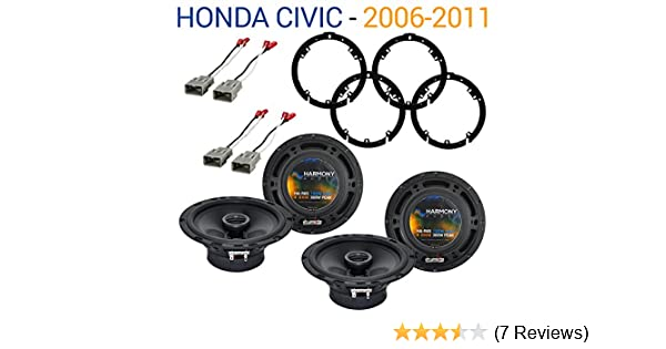Amazon.com: Fits Honda Civic 2006-2011 Factory Speaker Replacement Harmony (2) R65 Package New: Car Electronics