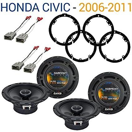 51nXRNsAfGL._SX425_ amazon com fits honda civic 2006 2011 factory speaker replacement
