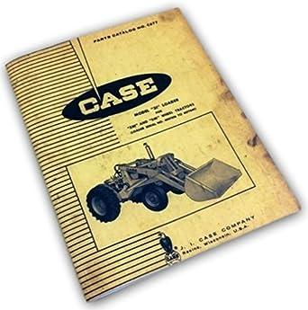 L J.I Case Tractor Technical Service Shop Repair Manual Model L