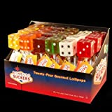 Dice Lollipops [24CT Box] - Assorted