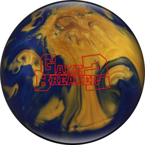 EboniteゲームBreaker 2ボーリングボール B010Q3HXO6 ゴールド 15 lb