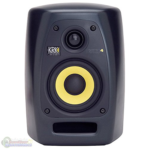 KRK VXT4 Active Studio Monitor - 4 Inch, 45 Watts by KRK