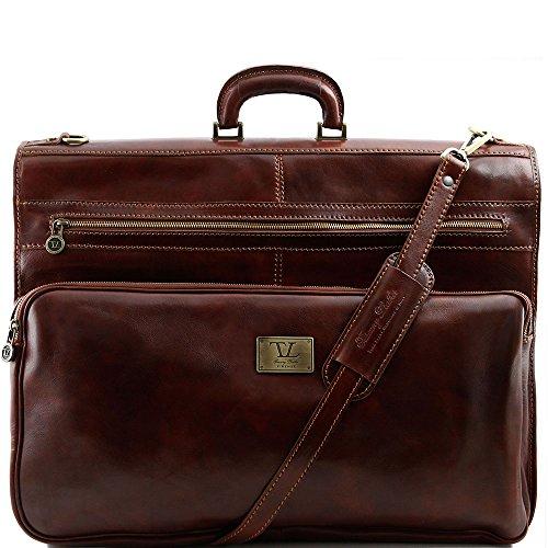 Tuscany Leather - Papeete - Housse de transport vêtements - Marron
