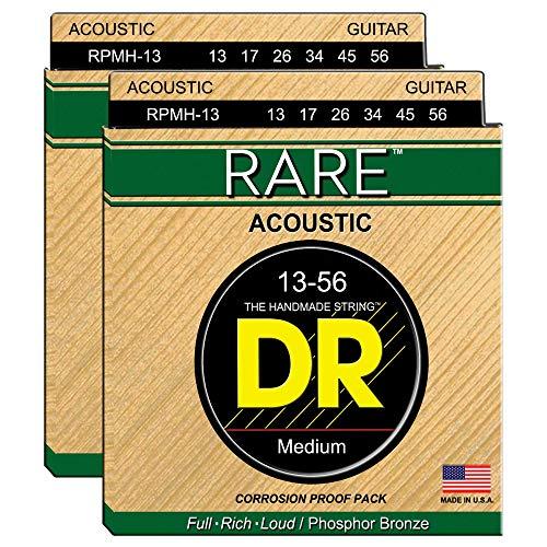 - DR Strings RPMH-13 Rare Acoustic PB 13-56 2 Pack Bundle