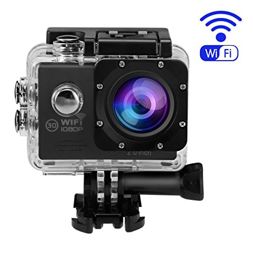 Action Camera,OUTAD 4K Ultra 1080P HD WiFi Waterproof Sports