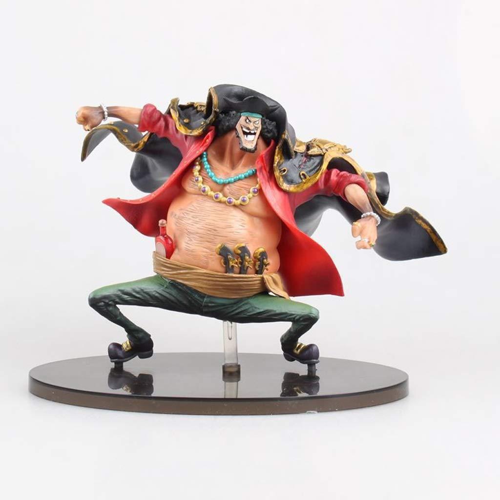 MLMHLMR One Piece in Cima Battaglia Nero Barba Mano Modello Regalo di Compleanno Ufficio Decorazione della casa Ornamenti Giocattoli di Modello