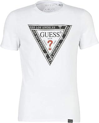 GUESS CN SS Envuelto TEE Camisetas & Polo Camisetas Hommes ...