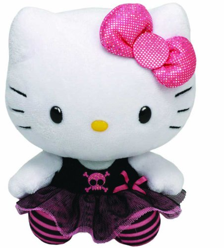 Hello Kitty - Plüschtier Punk (28 cm)