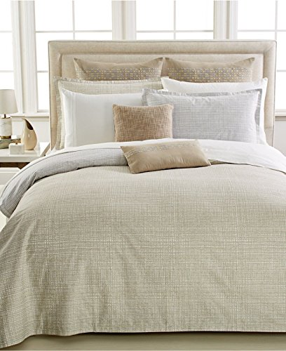 Barbara Barry Interlace Sand Reversible Queen Sham Barry Pillowcase