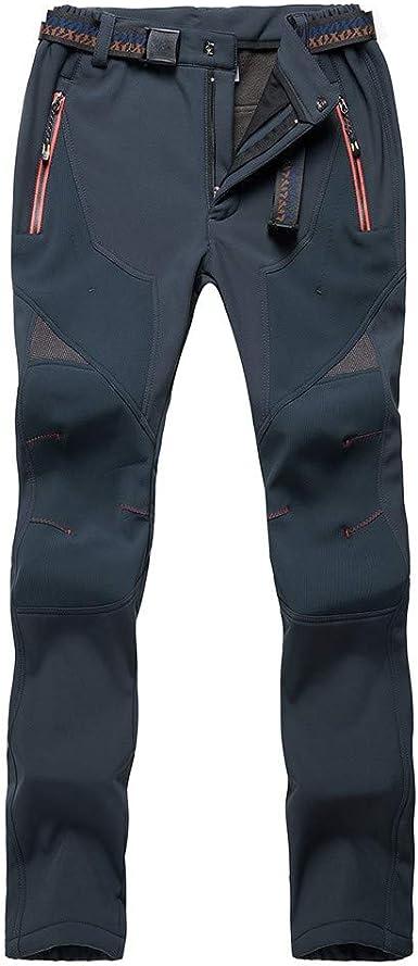 Heetey Pantalones de Escalada para Mujer, Gruesos ...