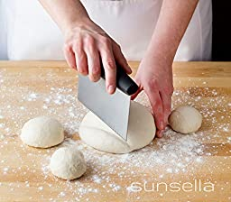 Premium Stainless Steel Pastry Scraper & Chopper By Sunsella