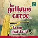 The Gallows Curse Audiobook by Karen Maitland Narrated by David Thorpe