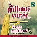 The Gallows Curse Hörbuch von Karen Maitland Gesprochen von: David Thorpe